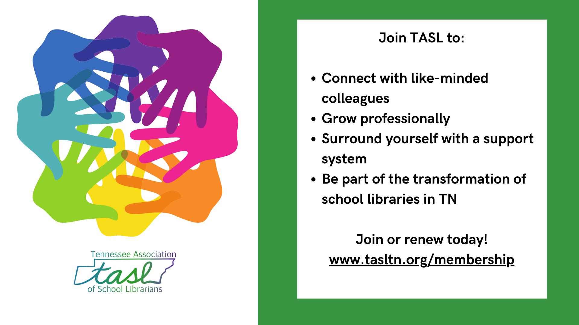 TASL Membership Drive